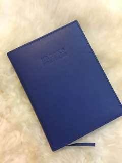 Authentic Brooks Brothers Genuine Leather Notebook