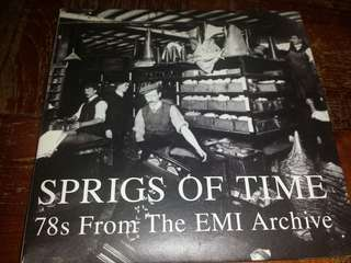Music CD: Various ‎– Sprigs Of Time: 78s From The EMI Archive