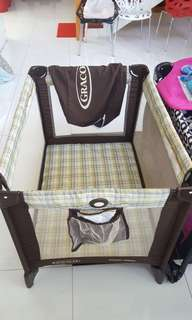 Graco pack and play crib playpen