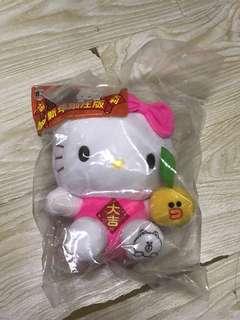 7-11 hello kitty 公仔