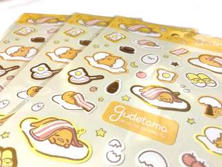 Gudetama Sticket Set