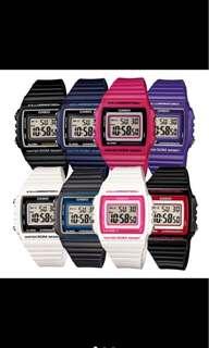casio glossy digital watch