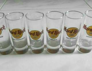 Hard Rock Shot Glass Collection