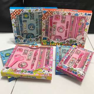 [CLEARING STOCK] Kid's stationery set
