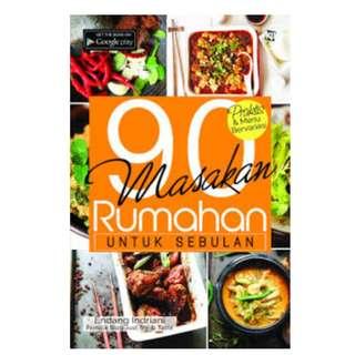 Ebook 90 Masakan Rumahan Untuk Sebulan - Endang Indriani