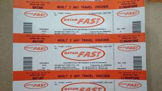 NONGSA//HARBOUR BAY 2Ways BATAM FAST FERRY TICKETS (ETICKETS PROMO FARE)