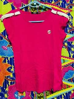 Bum pink tshirt