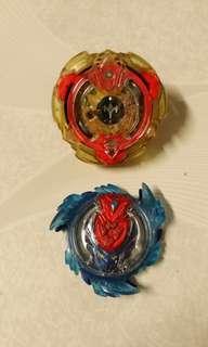 爆旋陀螺,也可換超Z末日,紋章是正版,是我自己畫的