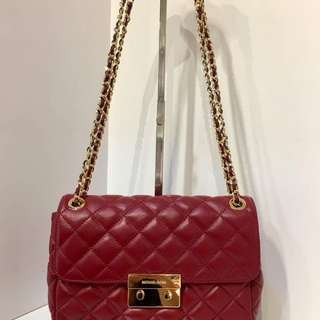 MICHAEL KORS  Sloan Large Chain Quilted Leather Shoulder Bag