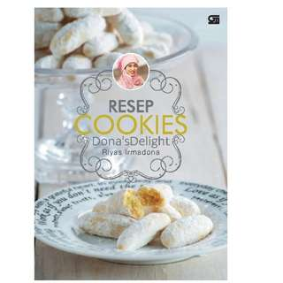 Ebook Resep Cookies Dona's Delight - Riyas Irmadona