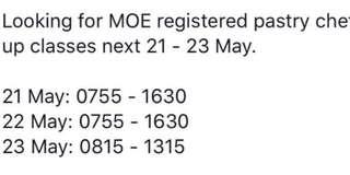 MOE Registered Trainer