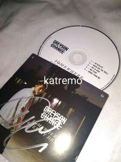 Greyson Chance Signed CD 'Somewhere Over My Head'