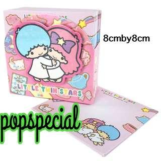 Last SET Little Twin Stars Memo Paper With Box