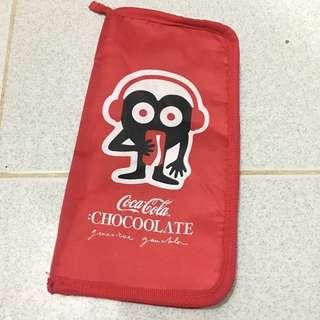Coca-Cola x Chocoolate Organizer Pouch