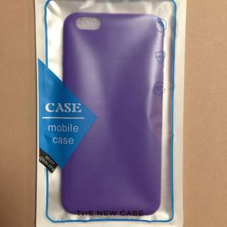 iPhone 6plus Case 紫色 軟膠手機殼 保護套
