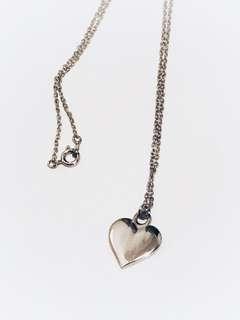 (SALE) BN Metal Heart Necklace