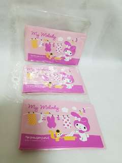 My Melody Three Card Holders