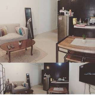 CONDO Studio type fully furnished