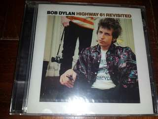 Music CD (sealed): Bob Dylan–Highway 61 Revisited