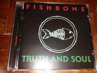 Music CD: Fishbone ‎– Truth And Soul - Funk Metal, Ska