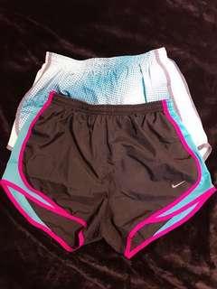 Take 2 Authentic Nike Dri-Fit Shorts