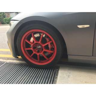 Sporty BMW 335I Coupe with M3 bodykit / Exhuast For Wedding usage Only