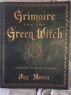 Grimoire for the Green Witch book of shadows