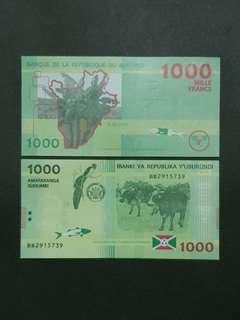 Burundi 1000 Francs 🇧🇮 !!!