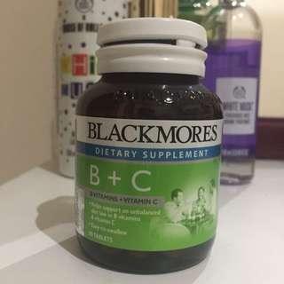 Blackmores vit B + C