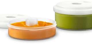 Avent food storage pots