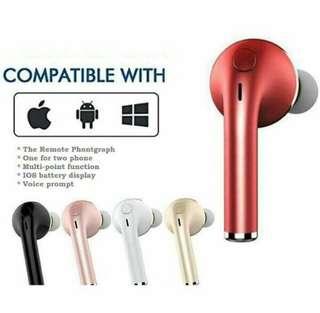 i7 Bluetooth Earphone