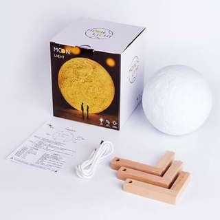 Pre Order 13 cm charging moon lamp w/Bluetoothspeaker#jelm