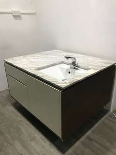 Counter kitchen island Marble
