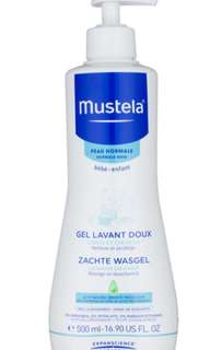 BN Mustela Gentle Cleansing Hair Body Gel