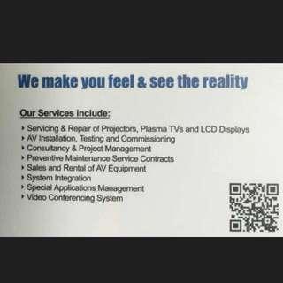 投影机维修、租赁、买卖