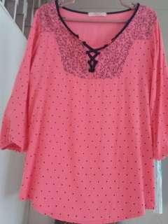 Three forth blouse