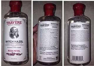 THAYERS Witch Hazel Toner