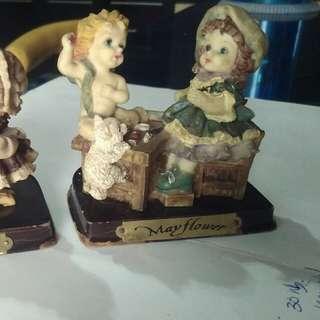 Patung Cute 1 set