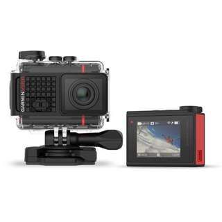 Garmin Virb ultra 30 action camera  with bike mount , extra batteries , charging case