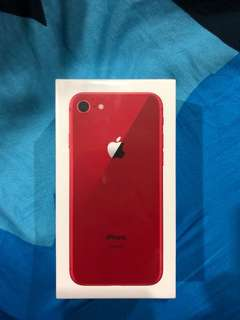 RED IPHONE 8 brand new!