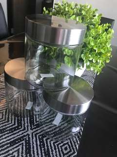 Kuih Raya Cookies Jar Canister