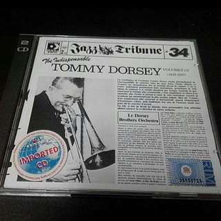 THE INDISPENSABLE TOMMY DORSEY VOL. 1/2 CD