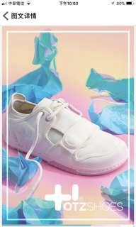 🚚 OTZ Low canvas white snow peach 平底休閒鞋(FLOT7S1W33)