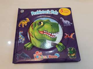 Pre-loved Dinosaur Puzzle Story Book