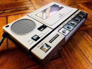 Vintage Toshiba Tape Recorder