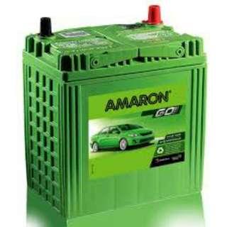 Delivery Kl & Selangor Car battery Amaron 24hour