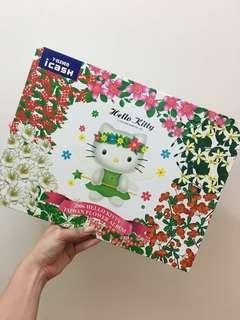 🚚 2006年限量版 Hello Kitty 台灣花卉icash卡7張