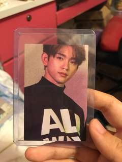 Got7 Eyes on You- Jinyoung photocard (official)