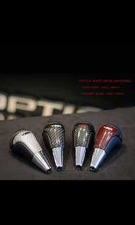 Toyota : Gearhead Toyota ( Auto ) custom made design Convert into carbon fiber  Switch to leather.