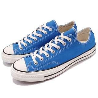 Converse 1970 寶藍色 三星標 奶油底